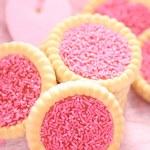 Pink cookies — Stock Photo #4498410