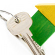 Stock Photo: House and keys
