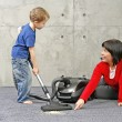 Cleaning up - Stock Photo