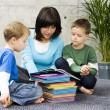 Reading together — Stock Photo #4499902