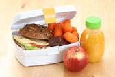 Lunch box — Stock Photo