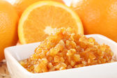 Orange marmalade — Stock Photo
