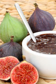 Fig preserved — Stock Photo