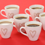 Coffee with love — Stock Photo