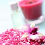 Flower bath salt — Stock Photo #4505360