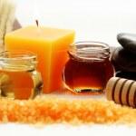 Honey bath time — Stock Photo #4505963