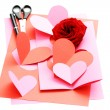 Valentine card — Stockfoto
