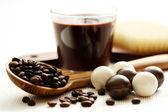 Coffee bath — Stock Photo