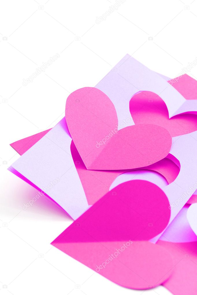 Everything you need to make some Valentine card  Stock Photo #4506417