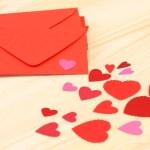 aşk mektubu — Stok fotoğraf
