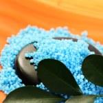 Blue bath salt — Stock Photo #4513948