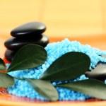 Blue bath salt — Stock Photo #4513991