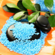 Blue bath salt — Stock Photo #4514020