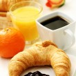 Butter croissant — Stock Photo