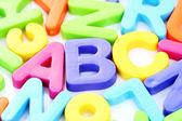 Litery abc — Zdjęcie stockowe