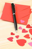 Love letter — Stock Photo