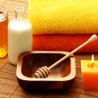 Honey and milk spa — Stockfoto
