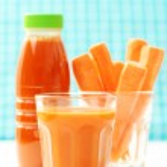 Carrot juice — Stock Photo #4524417