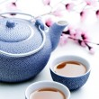 Two cups of tea — Stock Photo