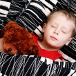 Sleeping kid — Stock Photo