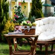 Relax in garden — Stock Photo #4540394