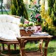Relax in garden — Stock Photo