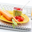 Snack in the office - Stock Photo