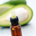Avocado essential oil — Stock Photo