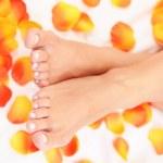 Beautiful feet — Stock Photo #4571890