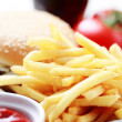 French fries — Foto de Stock