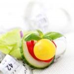On diet — Stock Photo
