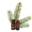 Fir tree essential oil — Stock Photo