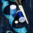 Sewing stuff - Stock Photo