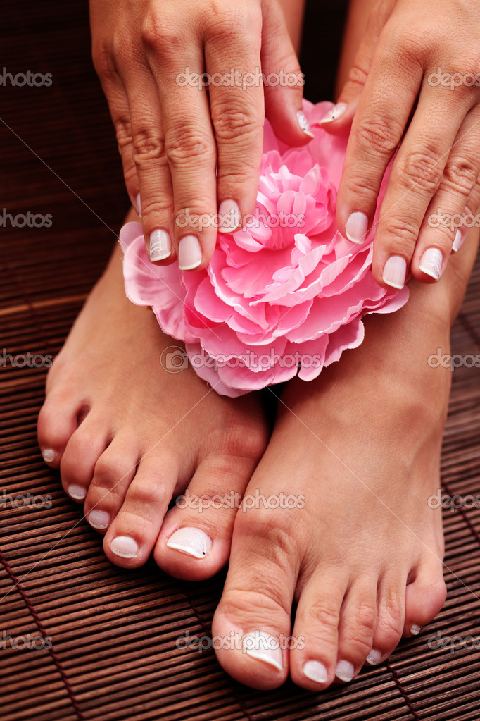 "beautiful feet photo 4x4 в""– 7894"