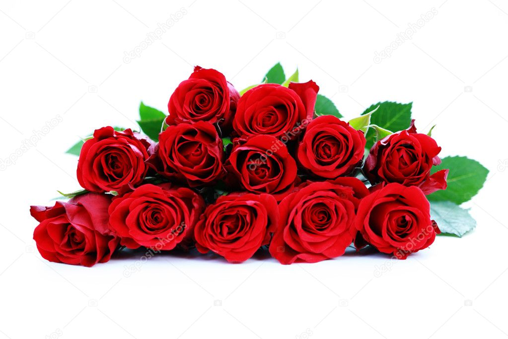 Bunch of beautiful roses - flowers and plants  Stock Photo #4576063