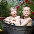 Summer bath — Stock Photo #4580867