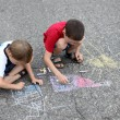 Little artists — Stock Photo #4580951