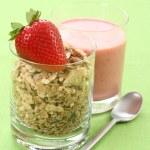 Healthy breakfast - musli — Stock Photo