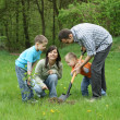 Planting a tree — Stock Photo #4587406