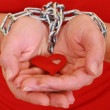 Prisoner of love — Stock Photo