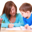 Drawing together — Stock Photo #4591508