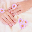 Beautiful hands — Stock Photo
