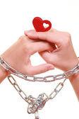 Prisoner of love — Stock Photo