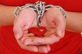 愛の囚人 — ストック写真