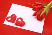 Love note — Stock Photo