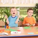 Preschoolers and manual skills — Stock Photo #4603363