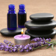Lavender aromatherapy - Stock Photo