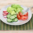 Fresh vegetables — Stock Photo #4609310