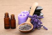 Lavender aromatherapy — Stock Photo