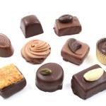 Mixed chocolates — Stock Photo #4610340